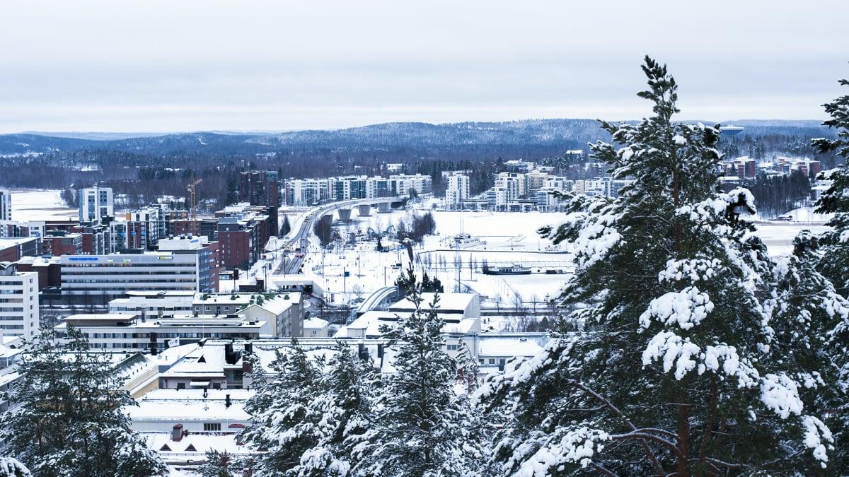 Talvinen Jyväskylä