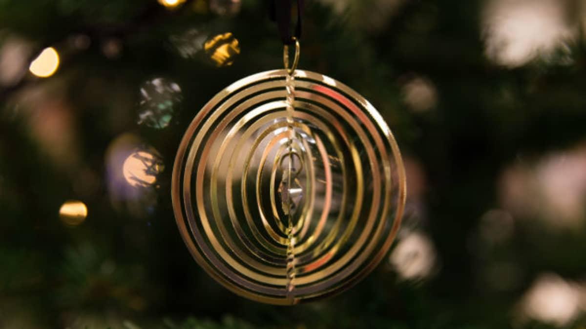 Joulukoriste joulukuusessa
