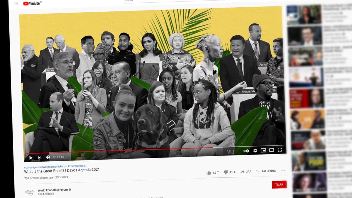 Ruutukaappaus Youtubesta.
