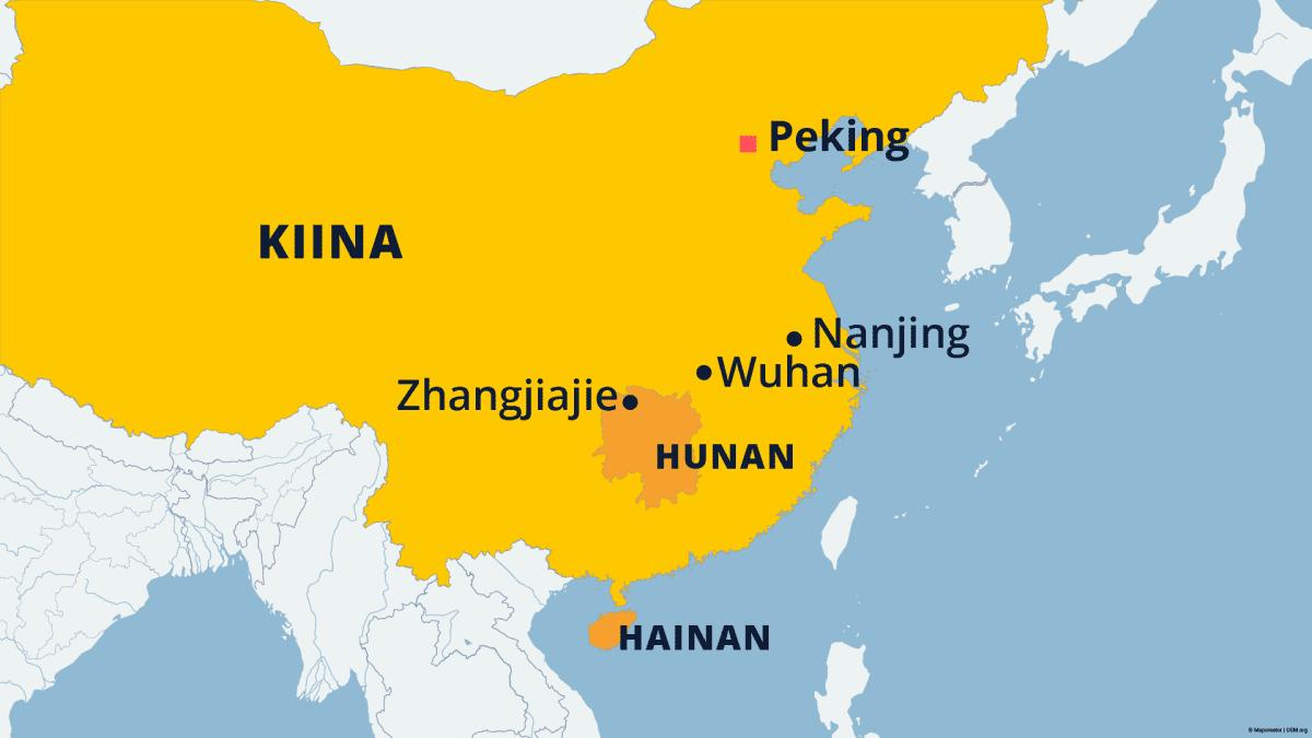 Kiinassa on kymmenessä päivässä raportoitu 350 uutta koronavirustapausta.