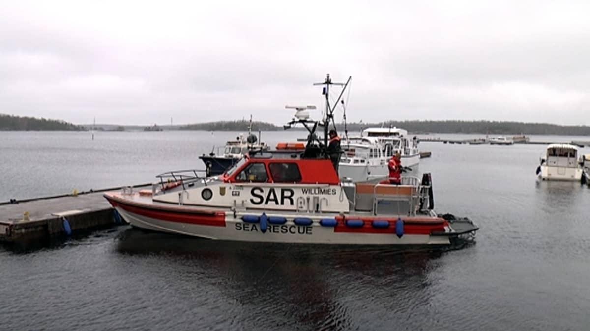 Suomen meripelastusseura Etelä-Saimaa ry:n alus Pv Willimies.