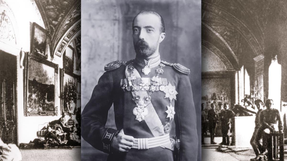 Venäjän suuriruhtinas Mikael Aleksandrovitš Romanov.