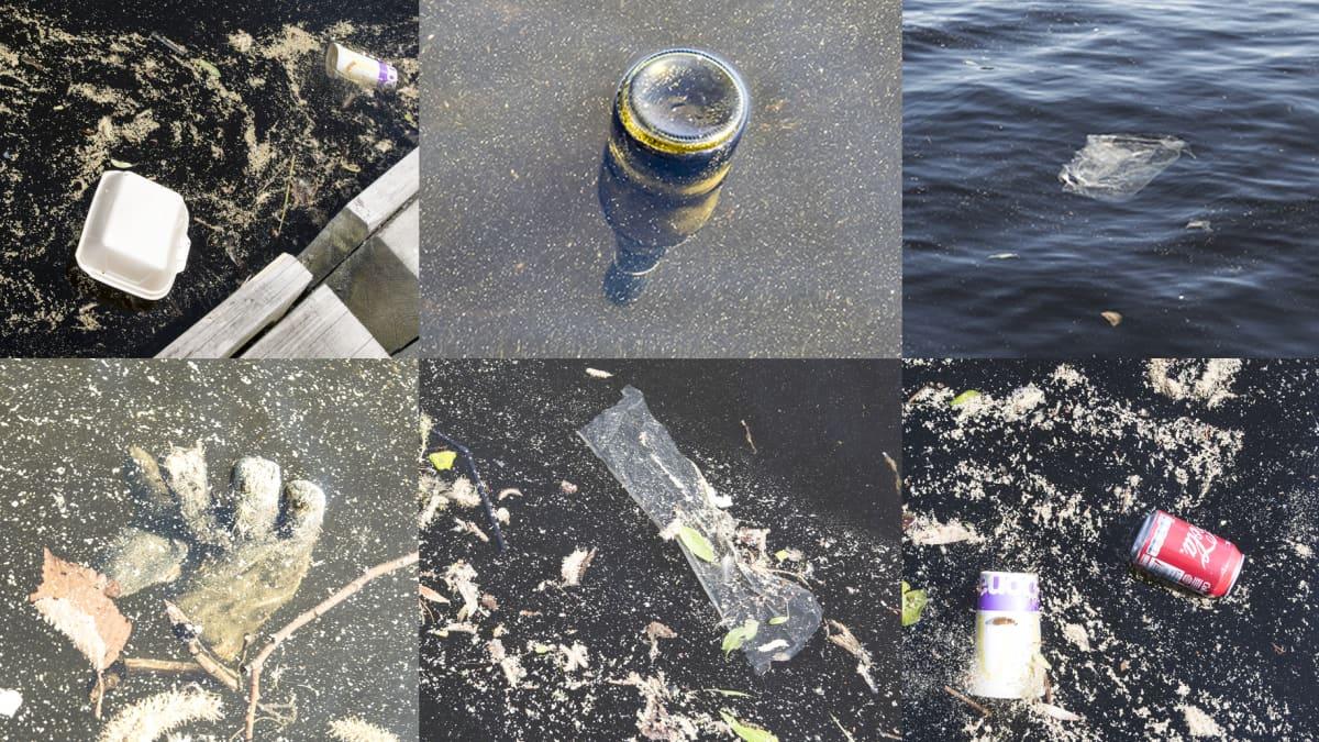 Kuusi kuvaa Ratinan sataman roskista