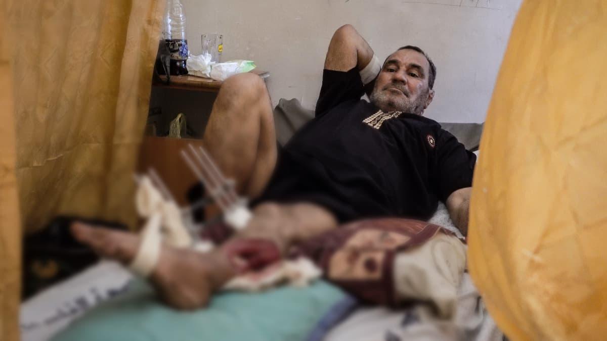 Potilas Gazassa