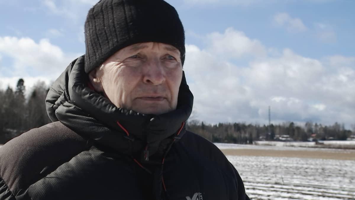 Kartanon marjan toimitusjohtaja Yrjö Rossi.