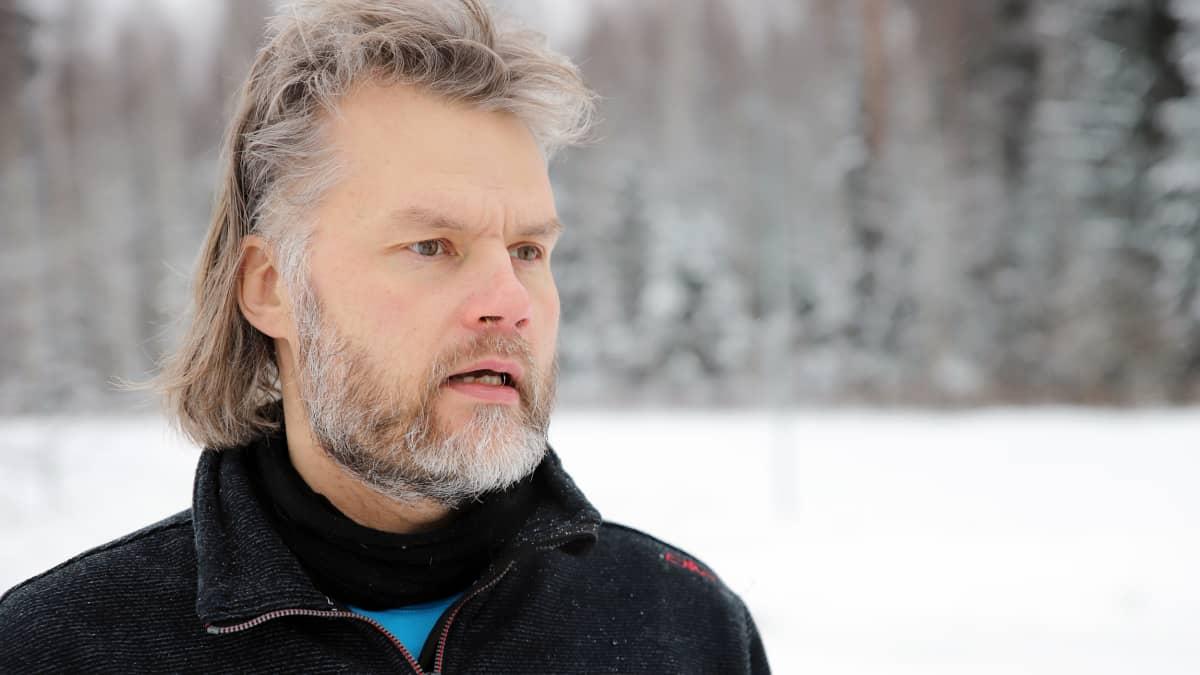 Sysmän kunnanhallituksen puheenjohtaja Mika Järvinen.