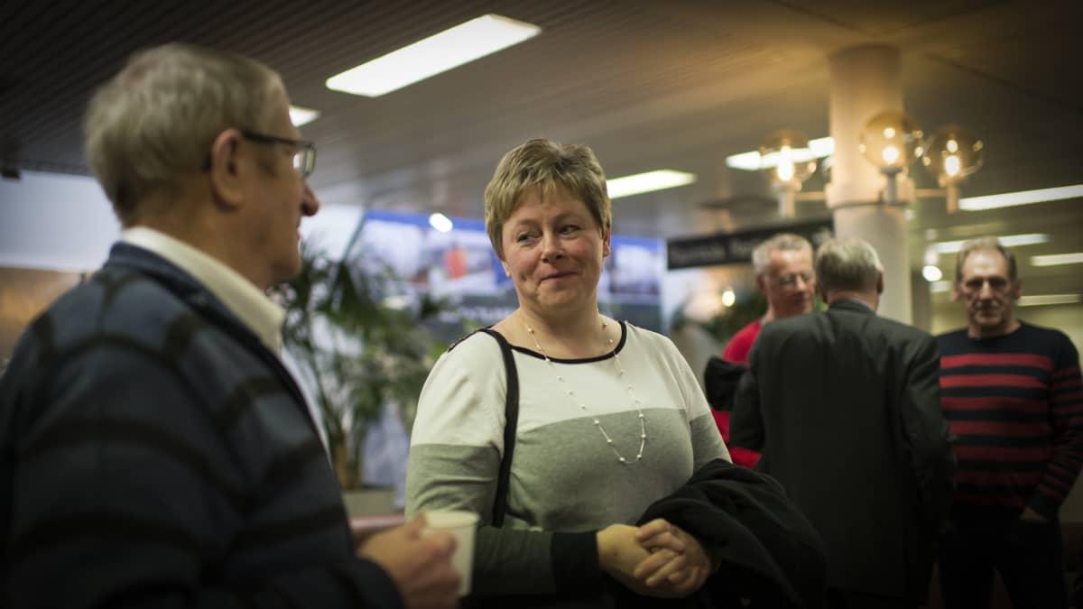 Kokkolan tuleva kaupunginjohtaja Stina Mattila.