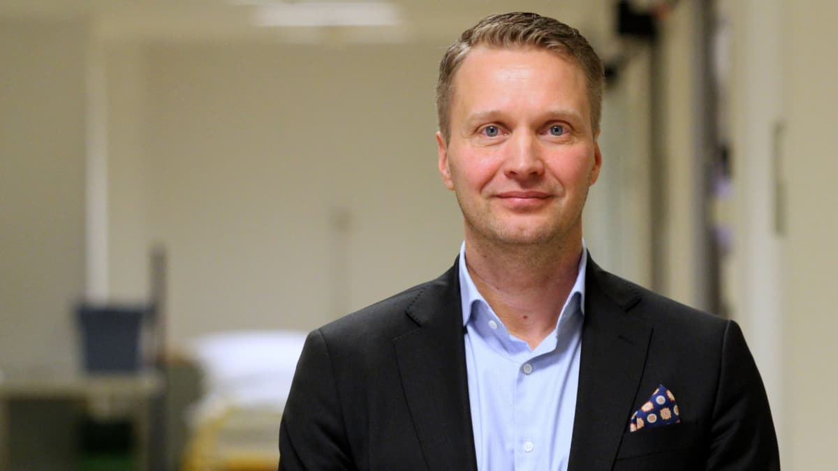 Sosterin kuntayhtymäjohtaja Panu Peitsaro.