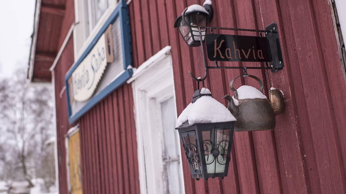 Kahvila Saha Kokkolan Ykspihlajassa