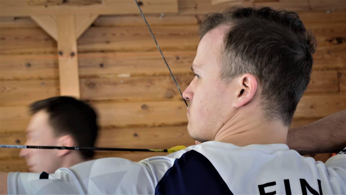 Jousiampuja Antti Vikström 2019.