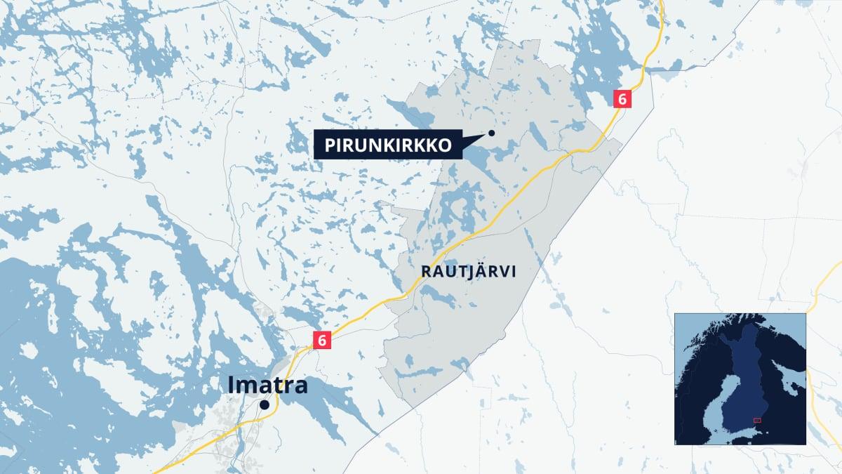 Rautjärven kartta