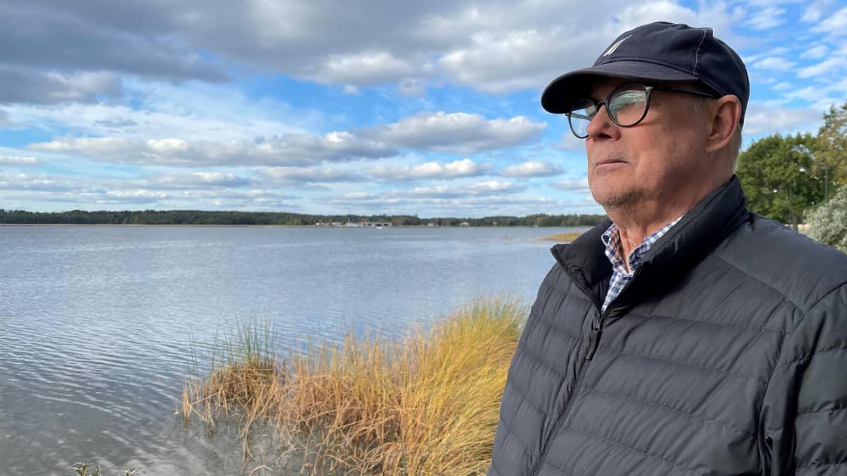 Kelluvat talot sulkisivat näkymän vanhasta kaupungista meren suuntaan ja toisin päin, Tammisaaren vanhan kaupungin yhdistyksen puheenjohtaja Christian Gröndahl arvioi.