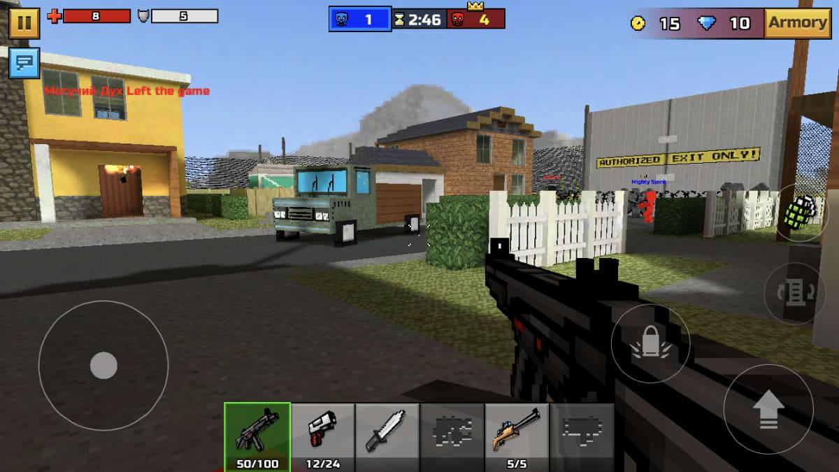 Pixel gun 3d ammuskelupeli