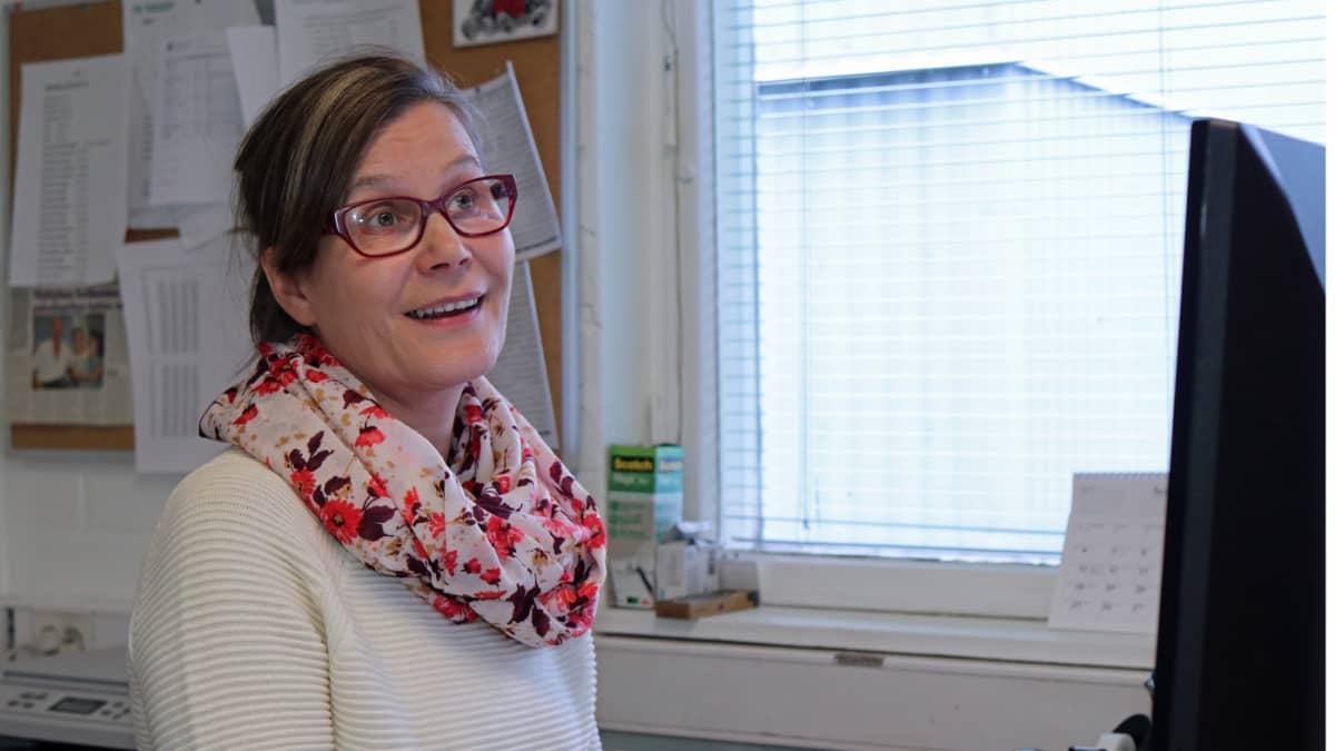 Toimitusjohtaja Leena Luukkonen on kasvattanut yhden naisen yrityksensä merkittäväksi työllistäjäksi.