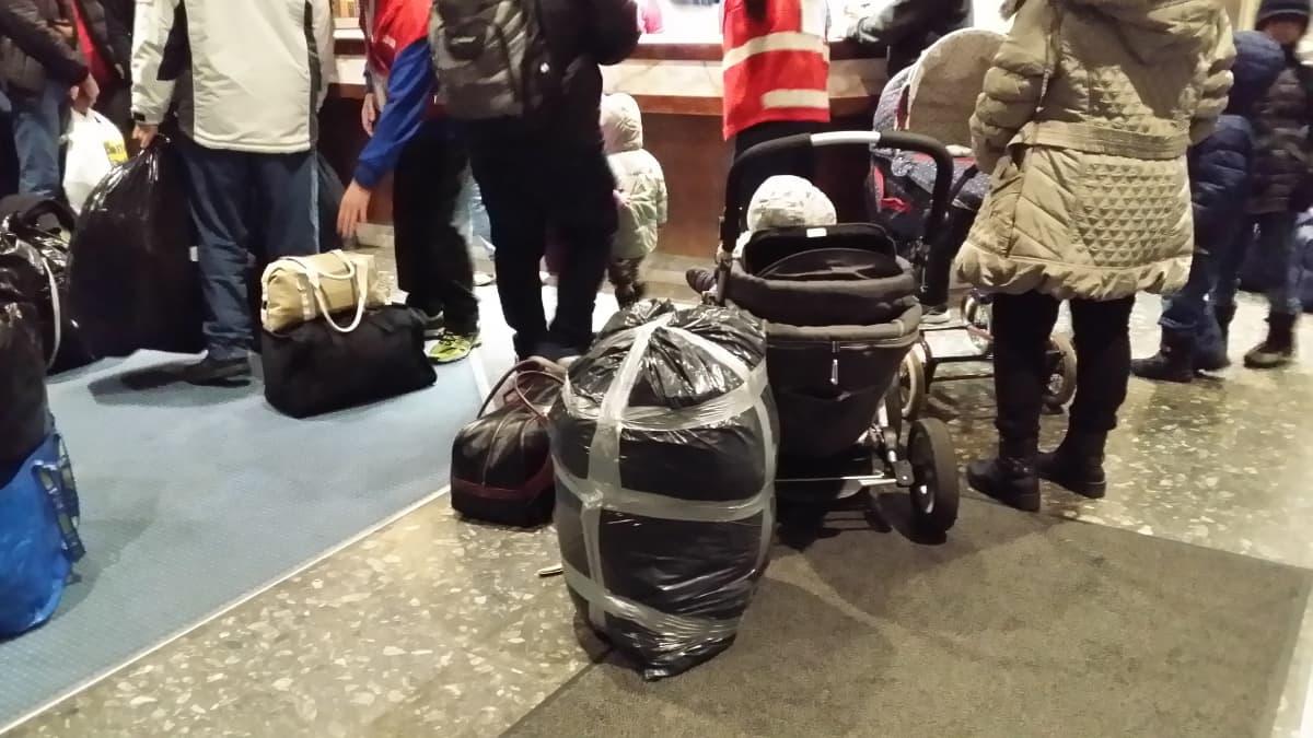 Vuoksenhovi, vastaanottokeskus, turvapaikanhakija, turvapaikanhakijoita saapuu