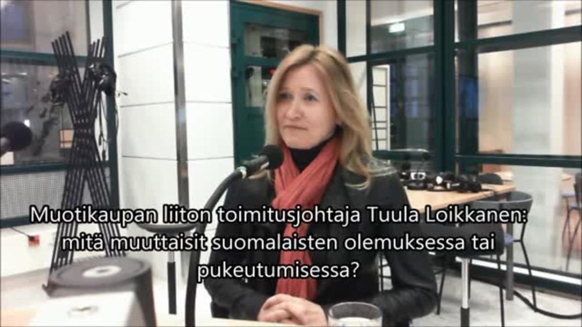 Muotikaupan liiton toimitusjohtaja: Suomalaiset pukeutuvat hyvin
