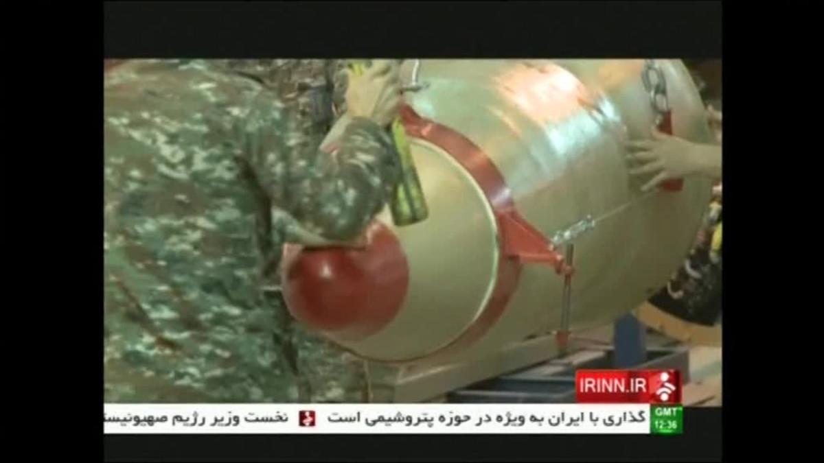 Uutisvideot: Iranin televisio taltioi ohjuskokeen