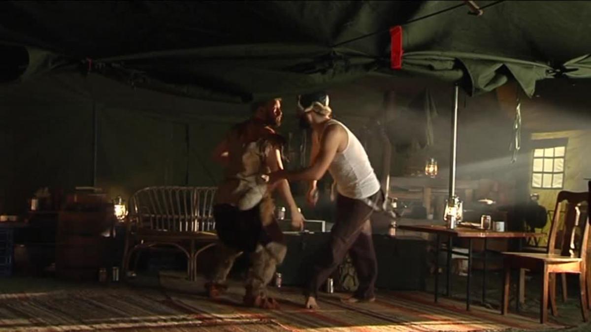 Uutisvideot: Kalja lentää tanssielokuvan kuvauksissa – katso video
