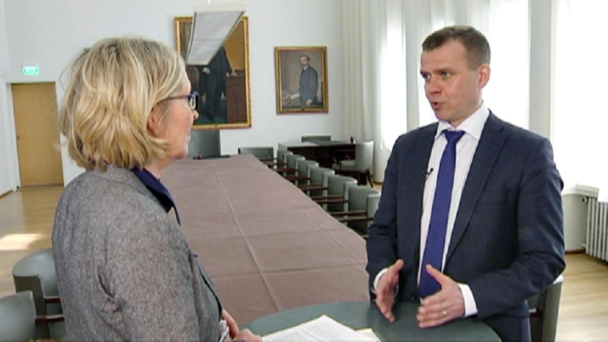 Politiikan avokonttori: Uosukaisen pöydässä sisäministeri Petteri Orpo