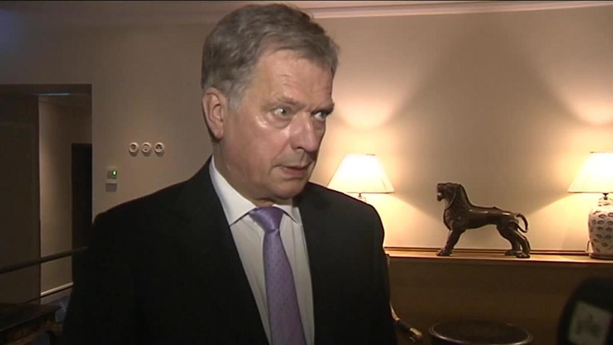 Uutisvideot: Presidentti Niinistö kommentoi Nato-raporttia
