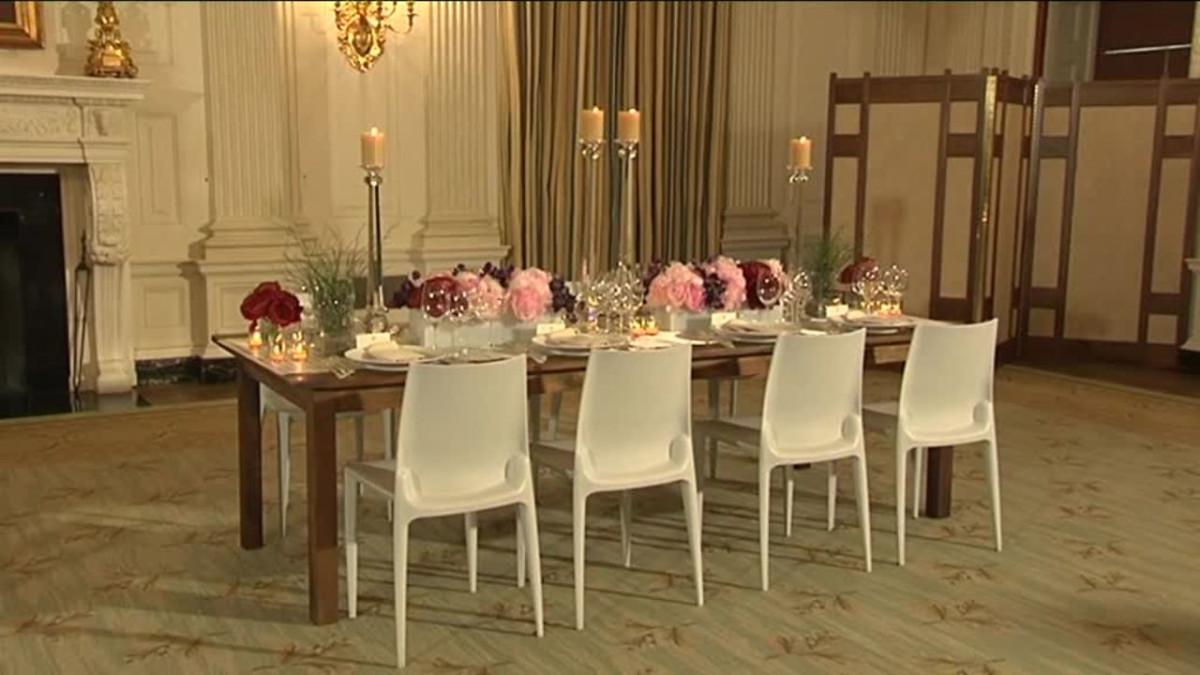 Uutisvideot: Tältä näyttää illallinen Valkoisessa talossa