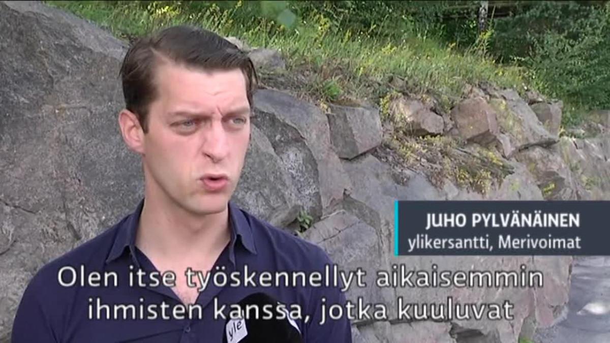 Uutisvideot: Ylikersantti Juho Pylvänäinen kommentoi Pride-kohua