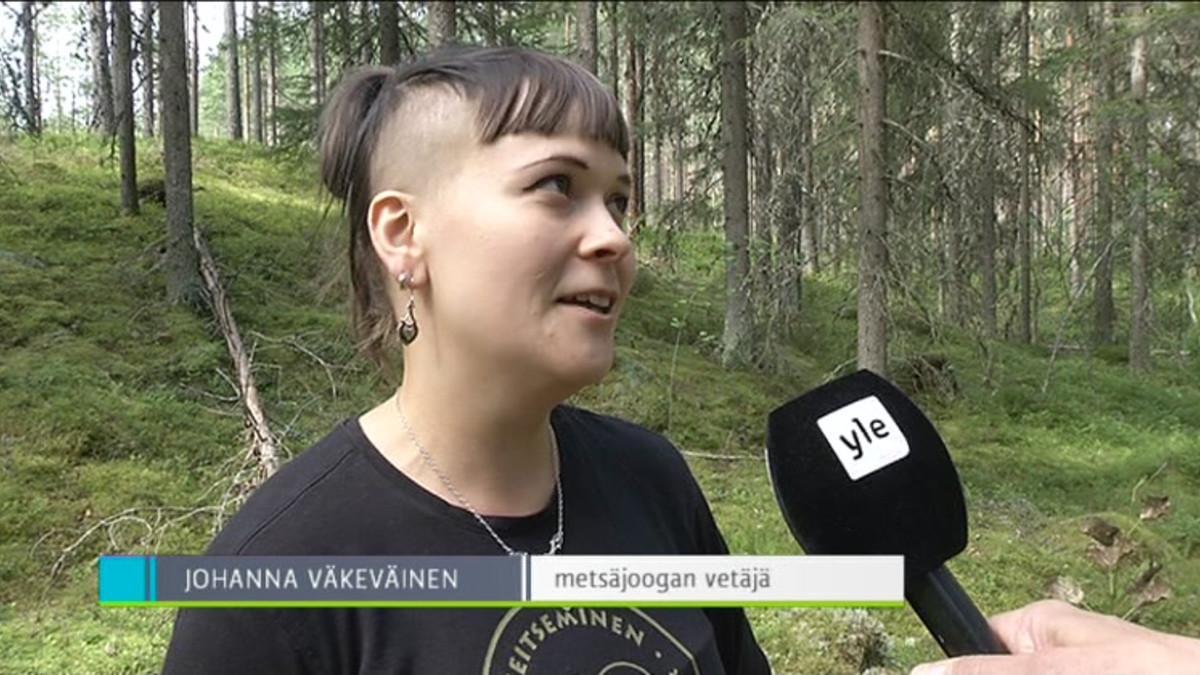 Yle Uutiset Pirkanmaa: Tältä näyttää metsäjooga Seitsemisessä