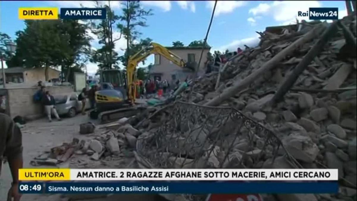 Uutisvideot: Järistyksen keskusta oli Amatricen kaupungissa