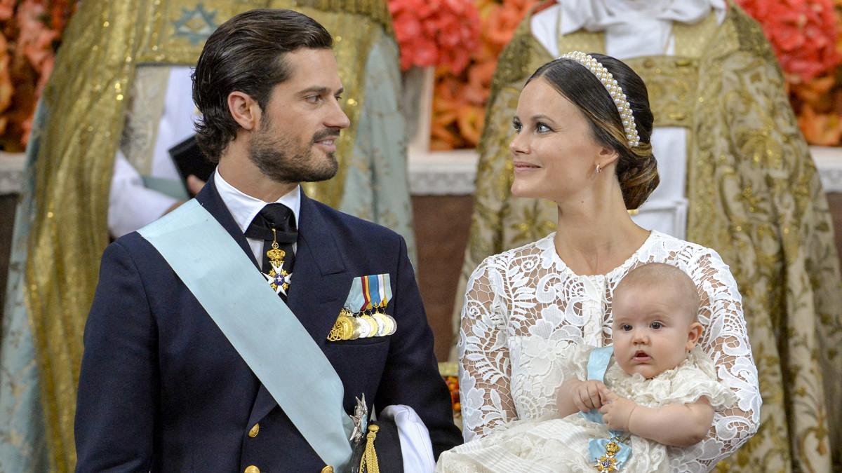 Uutisvideot: Ruotsin prinssi Alexanderin kastejuhla