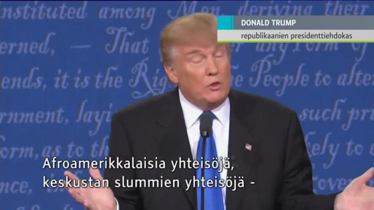 Uutisvideot: Clinton: Donald taitaa moittia minua valmistautumisesta