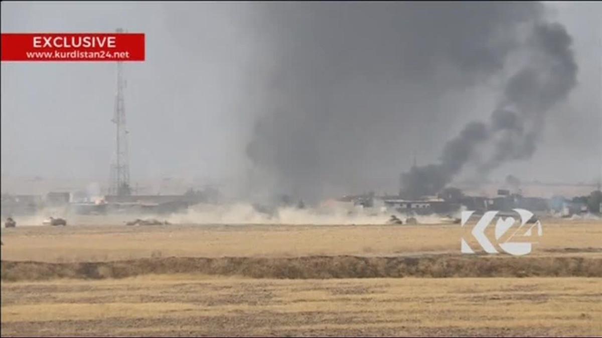 Uutisvideot: Irakin armeija ja kurdijoukot etenevät kohti Mosulia
