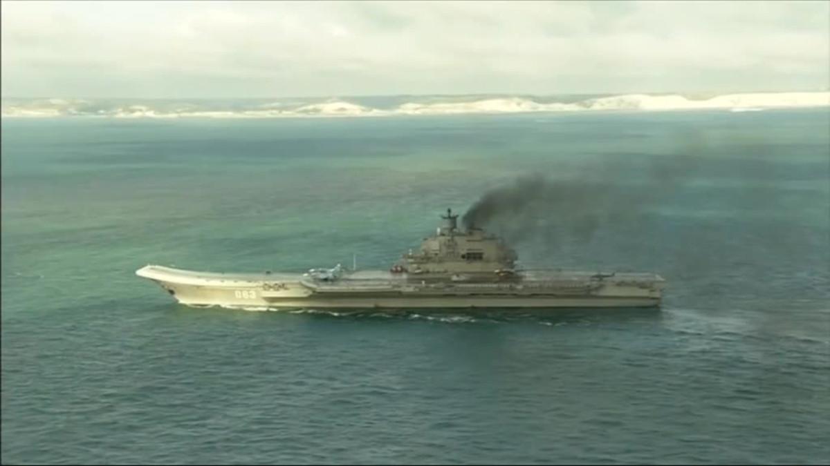 Uutisvideot: Venäjän lentotukialus Englannin kanaalissa