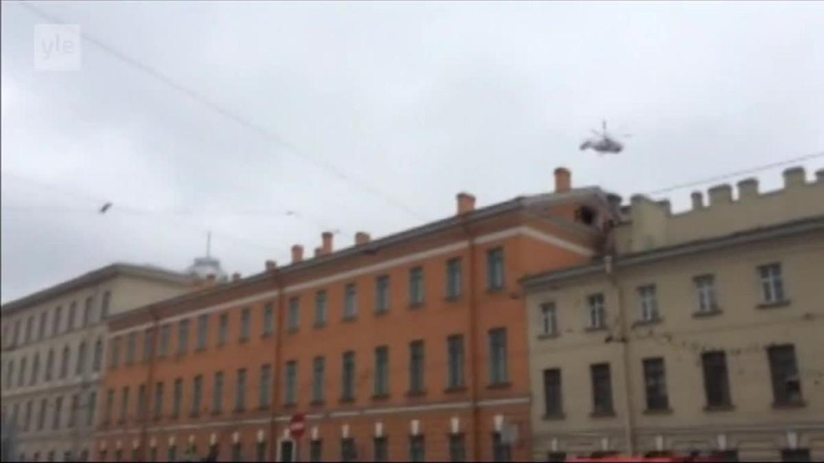Uutisvideot: Pietarin pelastustyöt jatkuvat