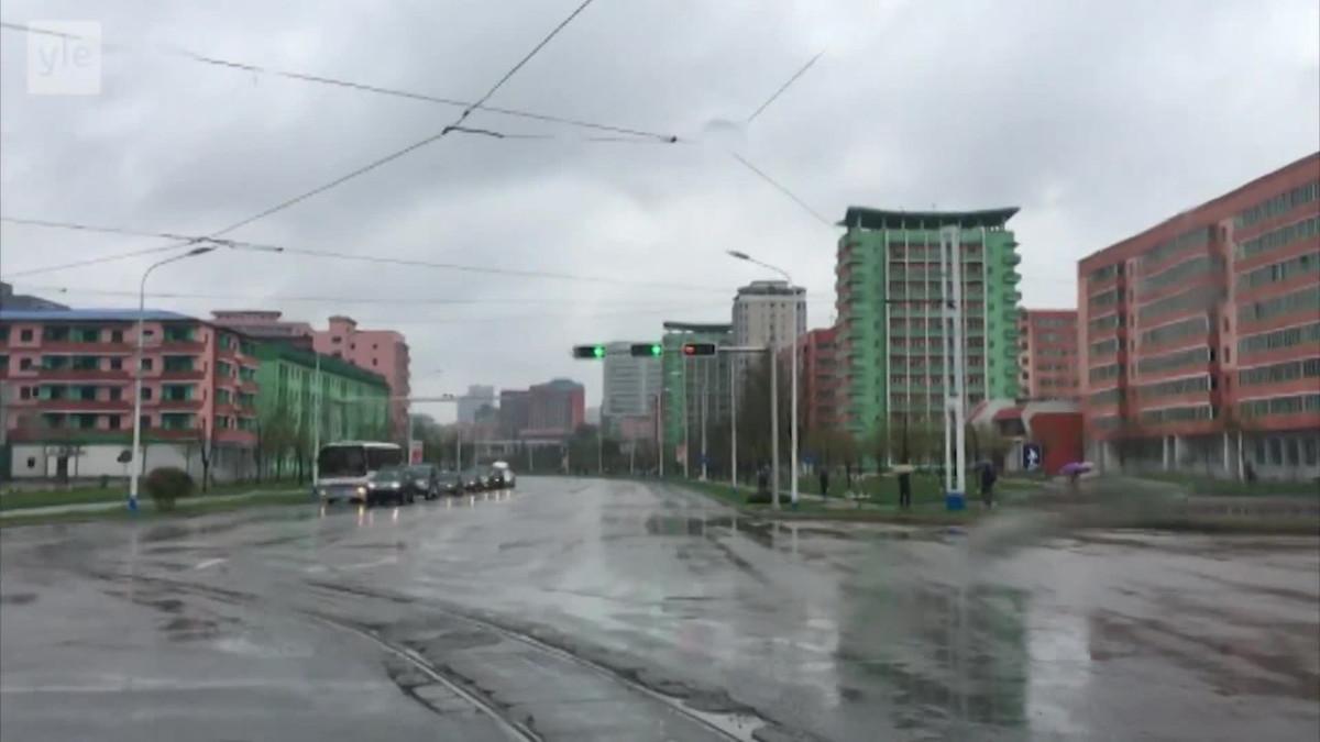 Uutisvideot: Matka halki Pohjois-Korean pääkaupungin
