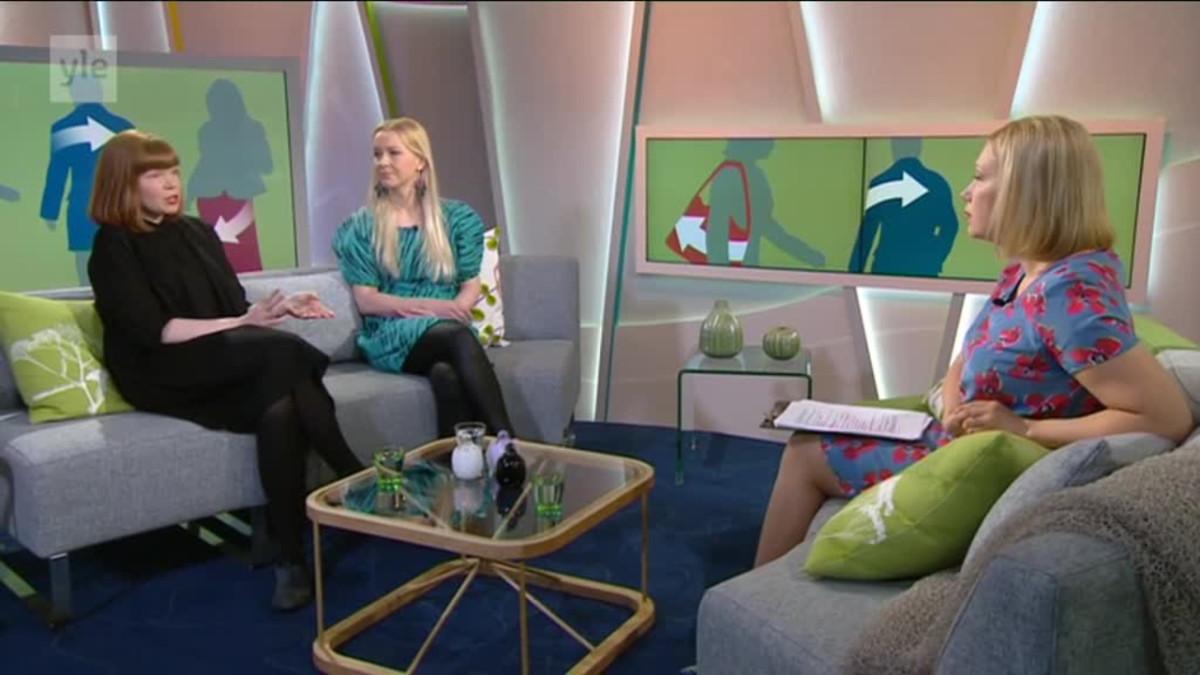 Ylen aamu-tv: Kiertotaloudella eroon tekstiilijätteestä?