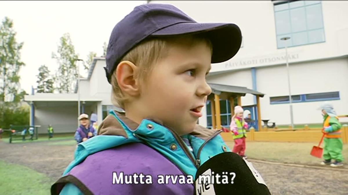 Yle Uutiset Pirkanmaa: 4-vuotiaan Turo Sipilän haastattelu