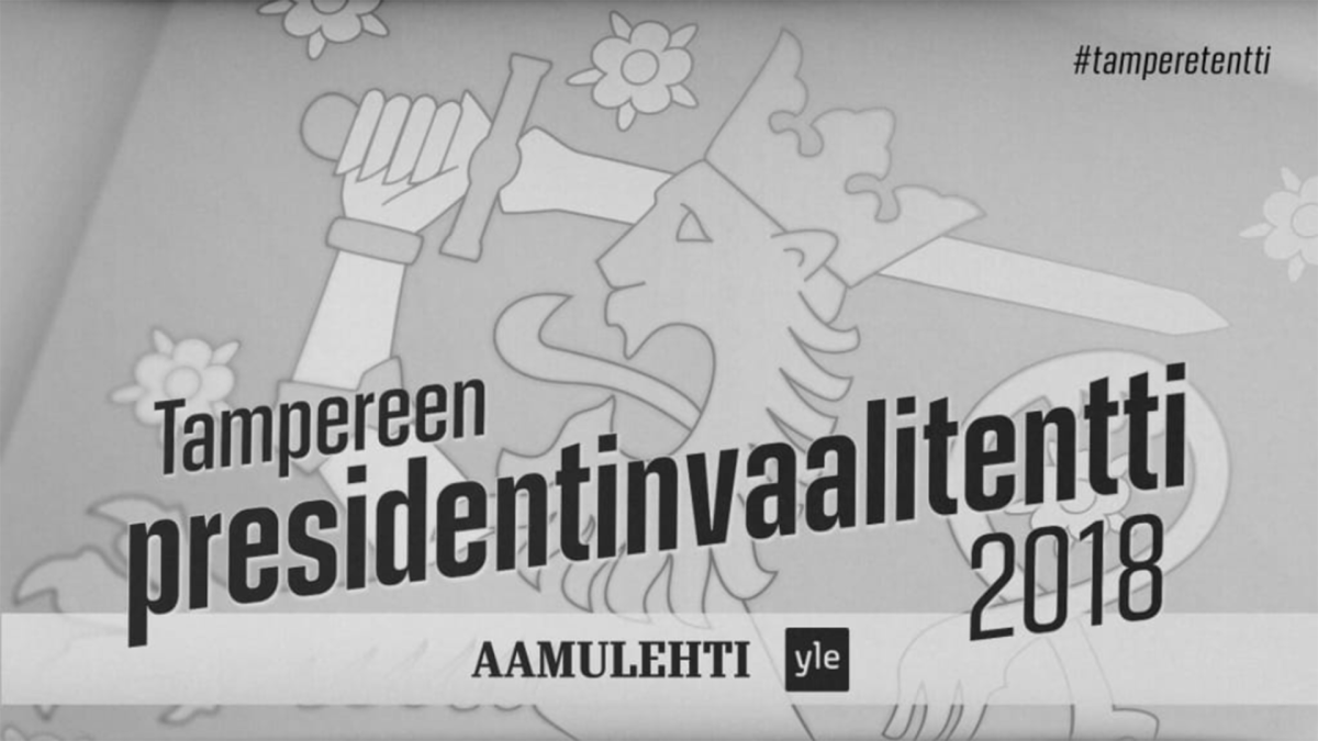 Tampereen Presidentinvaalitentti 2018