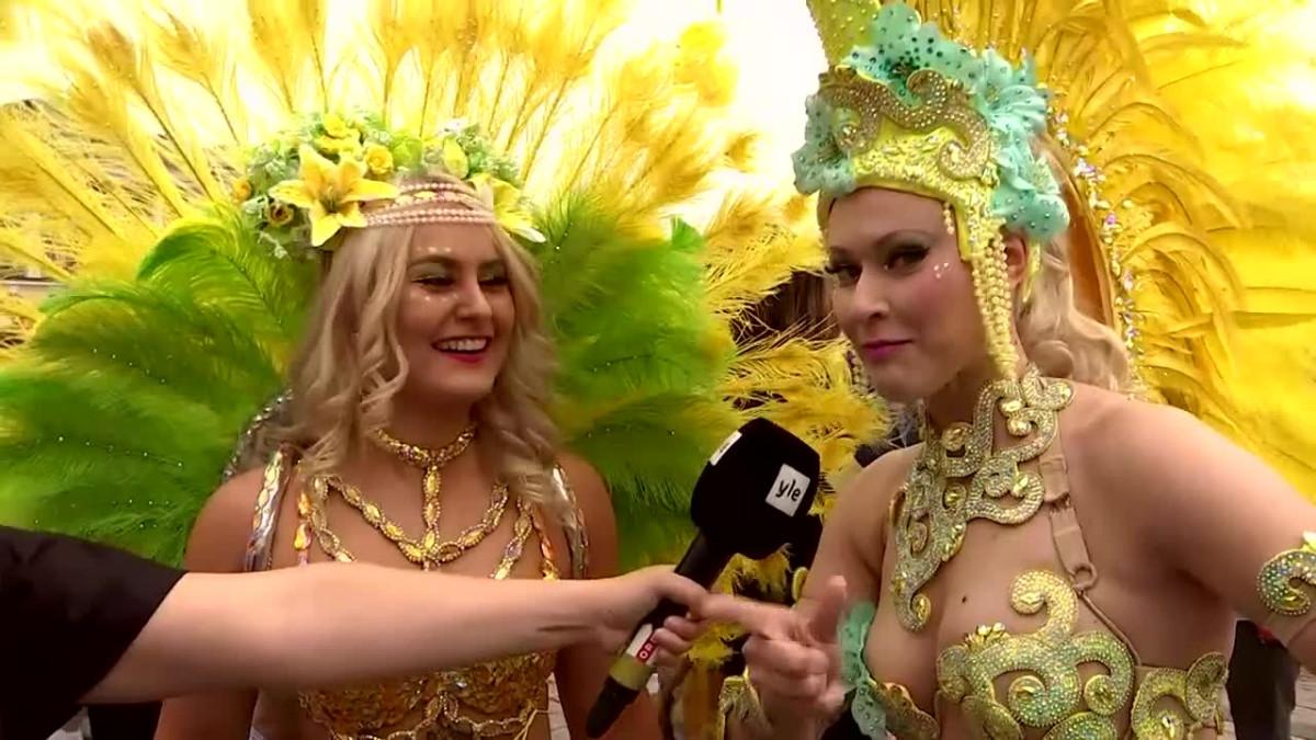 Kuumat sambarytmit valtaavat Helsingin kadut – luvassa on pukuloistoa ja tanssin riemua