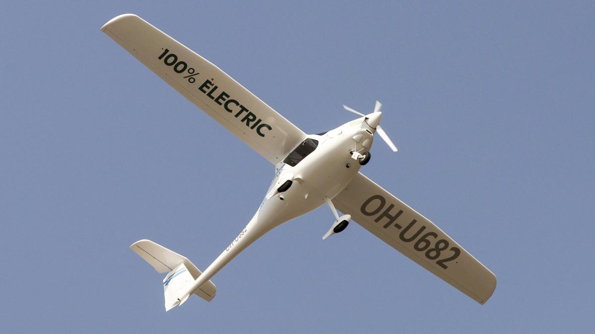 Lentoliikenteen tulevaisuus on sähköinen