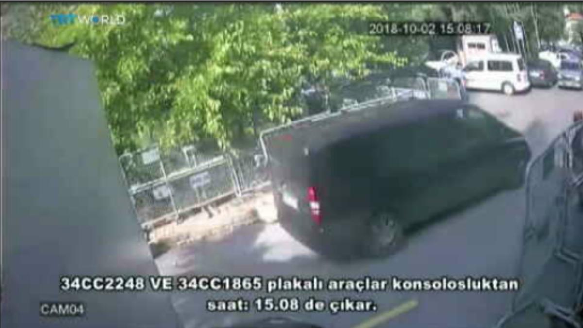 Turkkilaiskanava julkaisi valvontakamerakuvaa sauditoimittaja Jamal Khashoggin tapauksesta