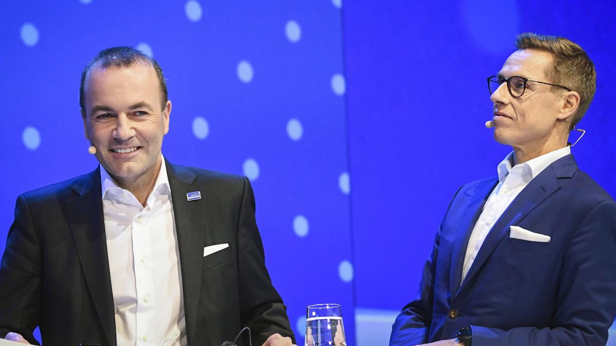 Erikoislähetys: Stubb vai Weber ehdolle EU-komission puheenjohtajaksi?