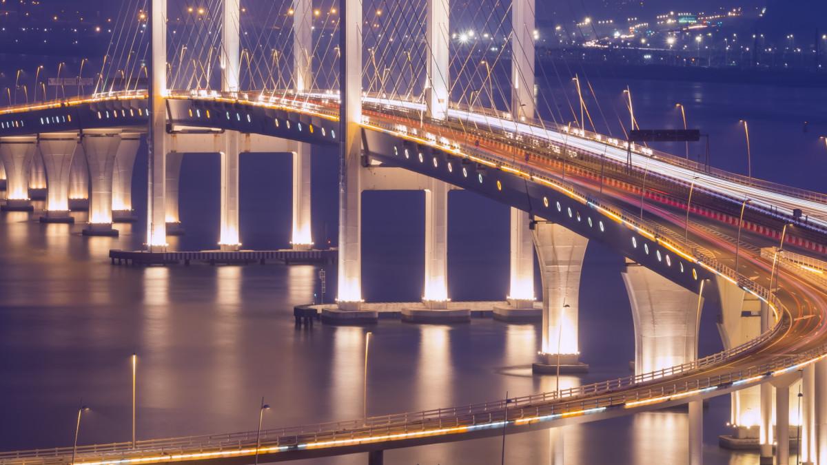Maailman pisin merisilta sitoo Macaon ja Hongkongin tiiviimmin Kiinaan
