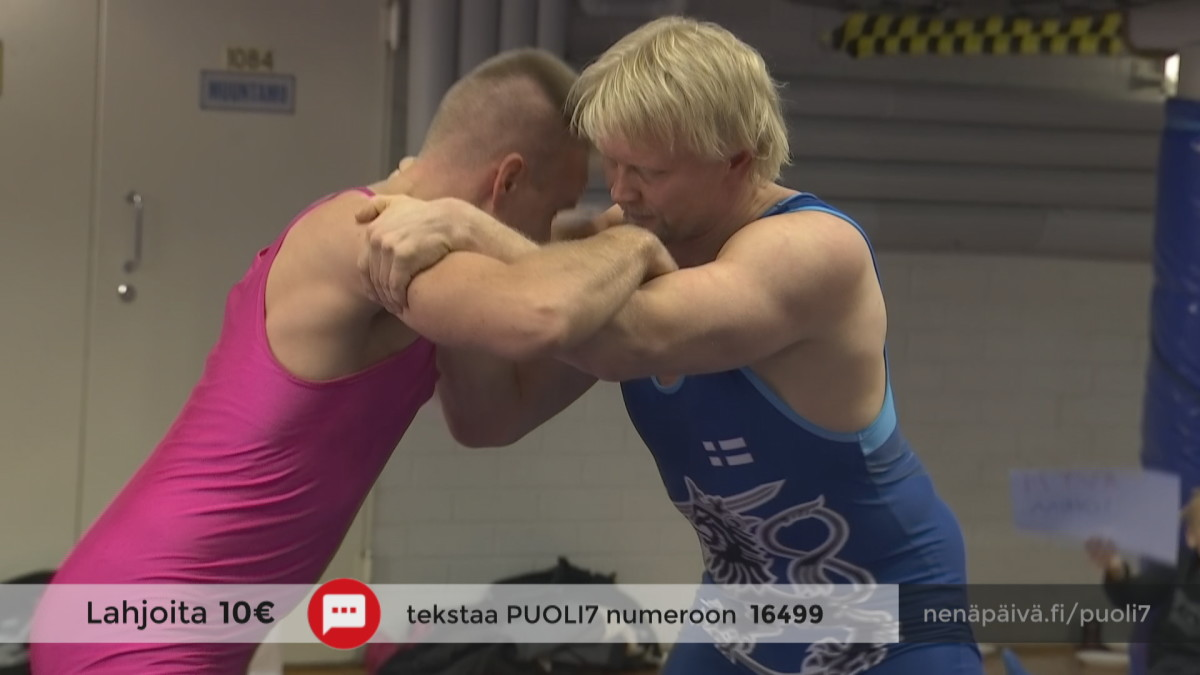 Mikko Kekäläinen kohtasi Nenäpäivähaasteessa olympiamitalisti Marko Asellin