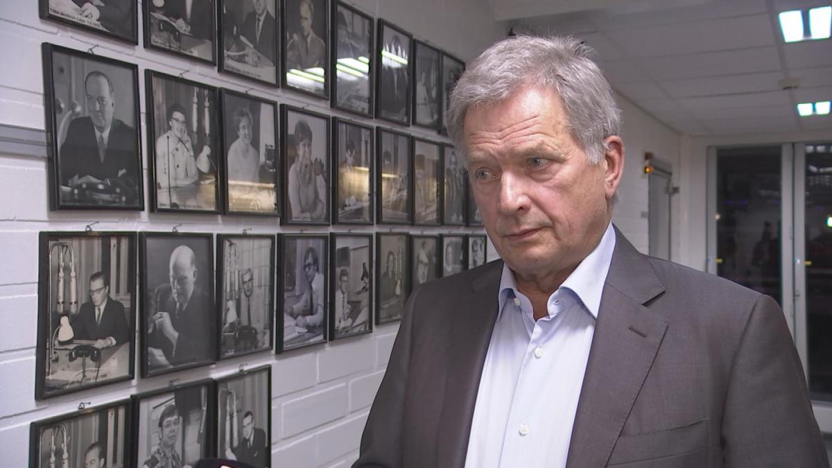 Presidentti Niinistö huolissaan virkamiesten häirinnästä