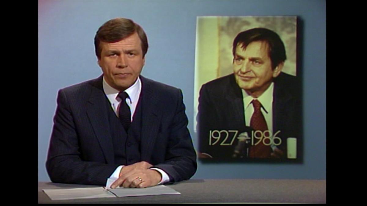 Olof Palmen murha - Ylen tv-uutisten erikoislähetys 1.3.1986