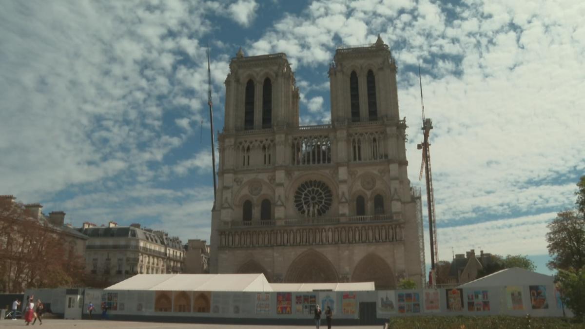 Notre Damen krypta avattiin yleisölle