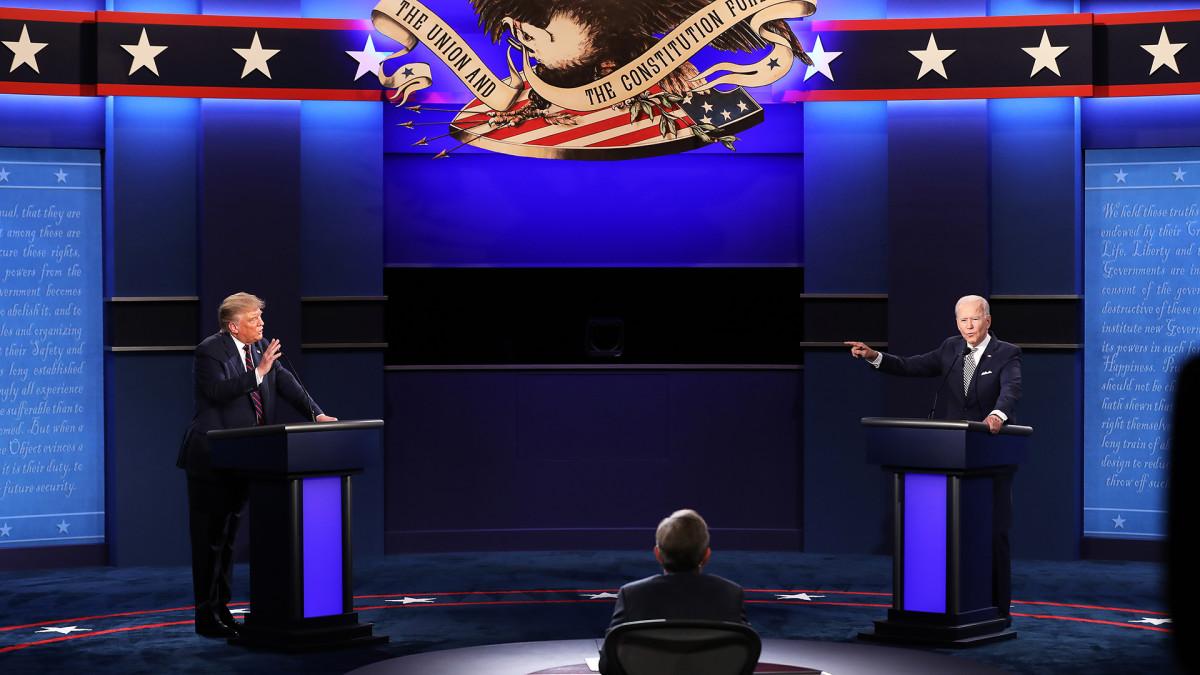 USA:n presidentinvaalidebatit, 1. presidenttiehdokkaiden vaaliväittely suomeksi tekstitettynä