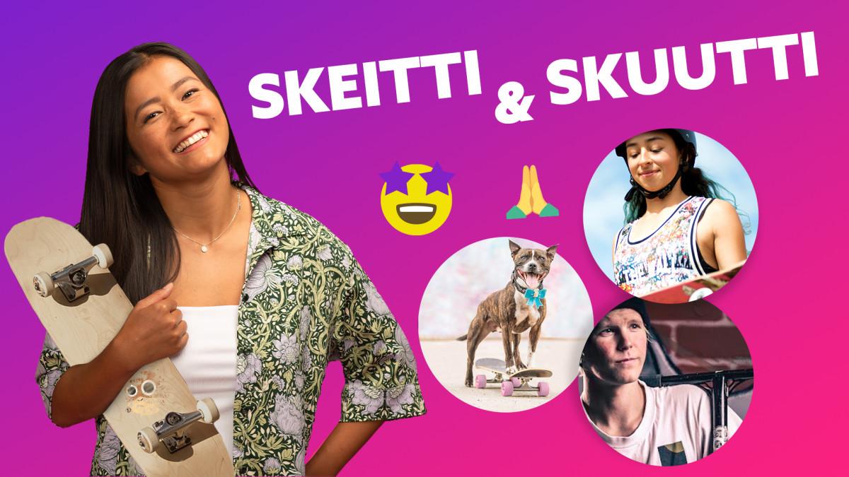 SKEITTI vai   SKUUTTI ft. Lizzie Armanto, Helmeri Pirinen ja Rambo Staffi