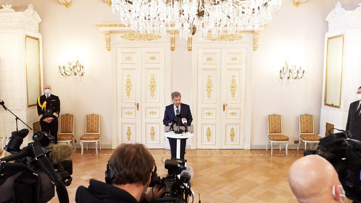 Tasavallan presidentin tiedotustilaisuus itsenäisyyspäivän juhlista
