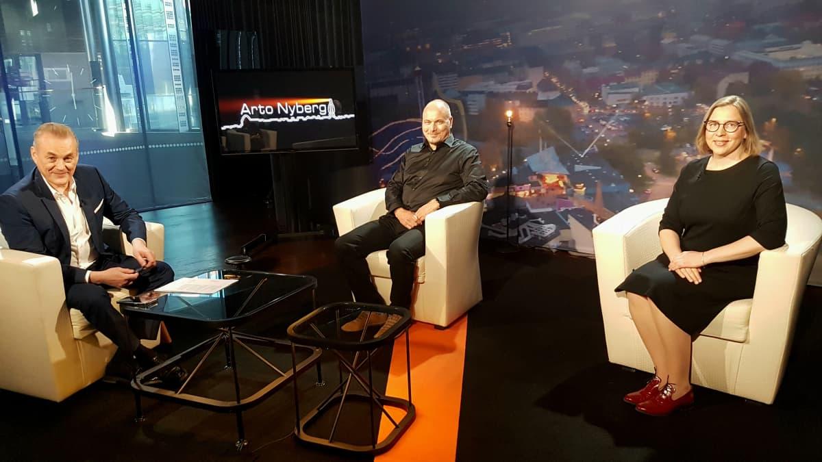 Tytti Yli-Viikari, Tommy Hellsten ja Sami Sillanpää